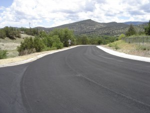 Mountaineer Road Reconstruction, Reserve, New Mexico